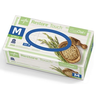 Restore® Touch™ Nitrile Powder-Free with MaxOat+