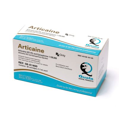 Articaine HCl 4% with Epinephrine