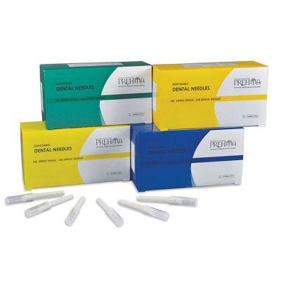 Prehma Disposable Plastic Hub Dental Needles