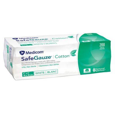 SafeGauze® Cotton Non-Woven Sponges