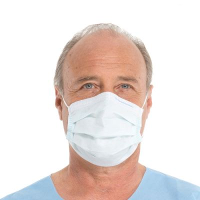 FLUIDSHIELD Fog-Free Procedure Mask with SO SOFT Lining