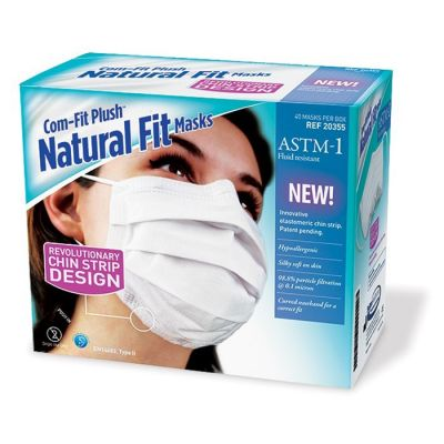 Com-fit Plush Natural Fit Masks - ASTM-1