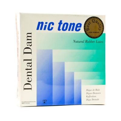 Nic Tone Dental Dams Green