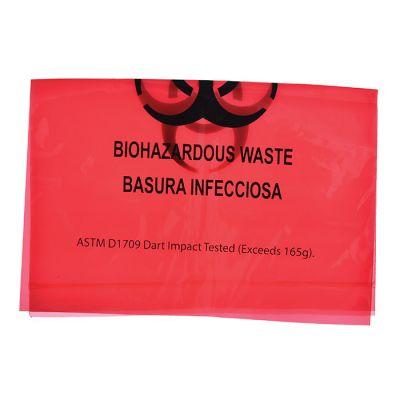Bio-Hazard Red Waste Bags