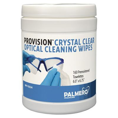 ProVision® Crystal Clear Optical Cleaning Wipes