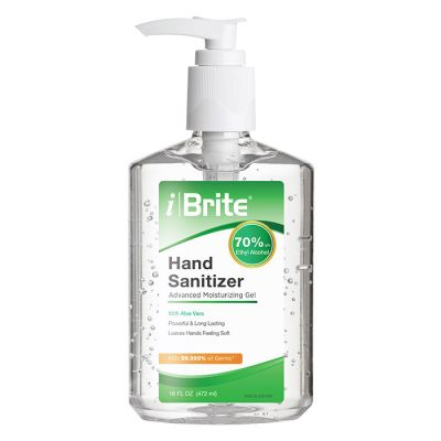 iBrite® Advanced Moisturizing Gel Hand Sanitizer