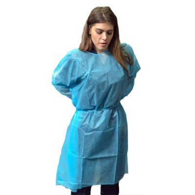Elastic Cuff Isolation Gowns