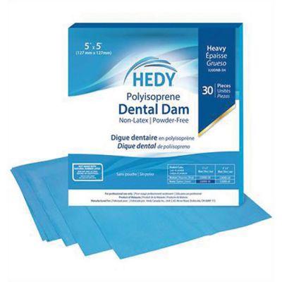 Hedy Polyisoprene Non-Latex Dental Dams