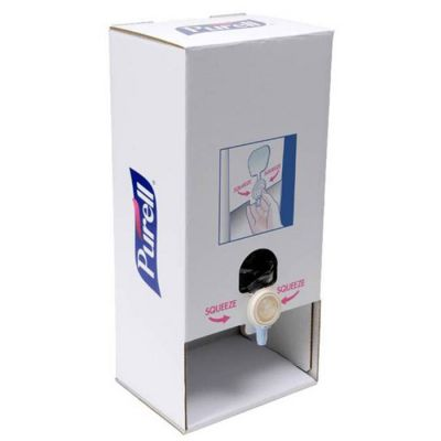 Purell Cardboard Table Top Hand Sanitizer Station