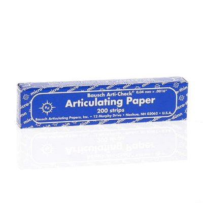 Micro-Thin Articulating Paper 40 Microns
