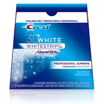Crest® 3D White Whitestrips® with Advanced Seal™