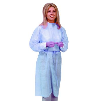 Isolation Gowns - Elastic Cuff