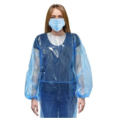 Disposable Plastic Isolation Gowns