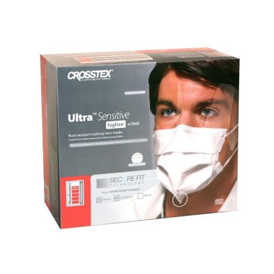 Ultra Sensitive SecureFit Fog Free with Wrap-Around Shield