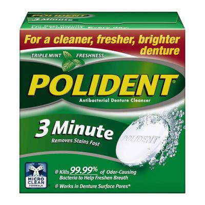 Polident® 3-Minute Antibacterial Cleanser