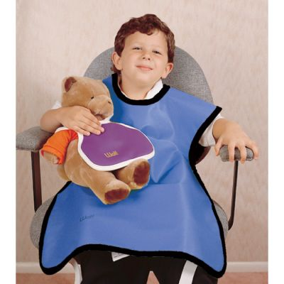Lead-Free Child Apron with Attached Collar