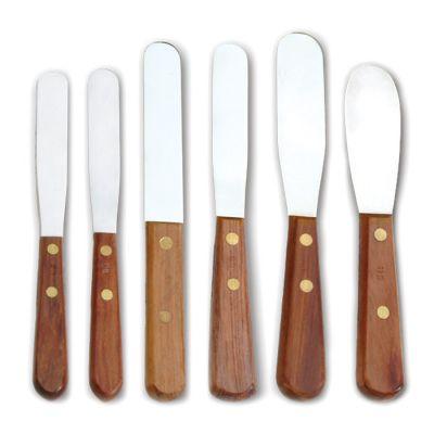 Wood Handled Spatulas