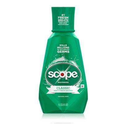 Scope Rinse