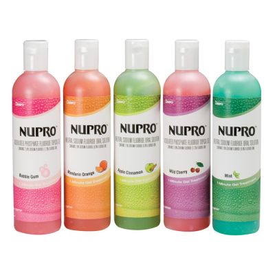 NUPRO® 1.23% APF Fluoride Gel & Oral Solution