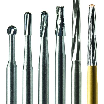 Midwest® Once® Sterile Carbide Burs - Metal Cutting FG