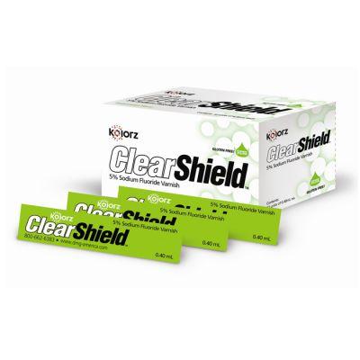 Kolorz® Clearshield™  Fluoride Varnish