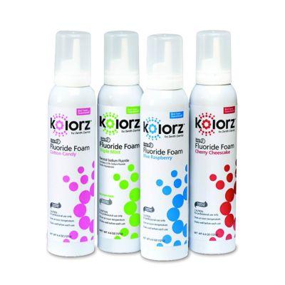 Kolorz® Sixty-Second Fluoride Foam