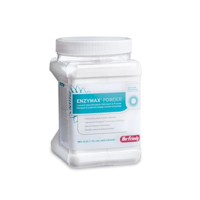 Enzymax® Powder Concentrated Ultrasonic Detergent and Pre-Soak