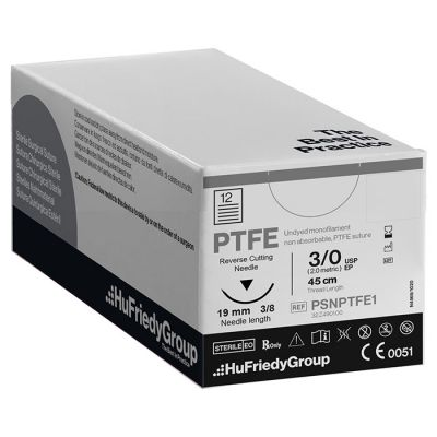 PTFE Sutures - Non-Absorbable White