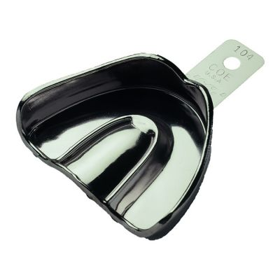 COE® Metal Impression Trays - Solid Nickel-Plated